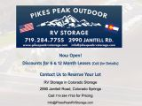 Pikes Peak Outdoor RV Storage